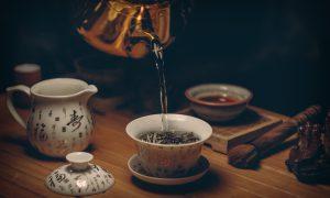 tè cinese, preparazione
