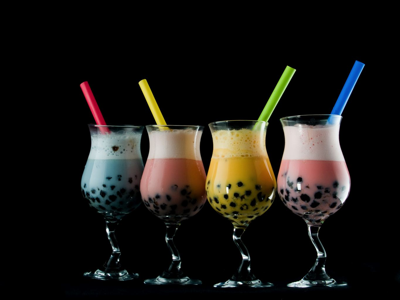 bubble tea: tè con le bolle taiwanese