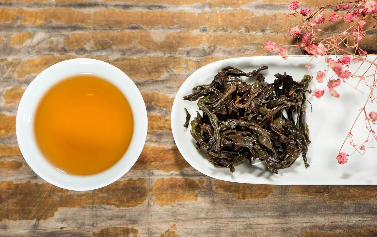 tè nero in foglie sciolte